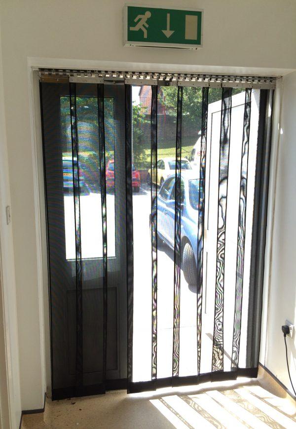 heavy duty strip mesh insect door