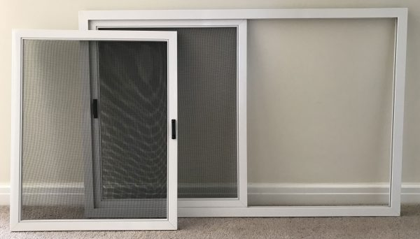 Removable insect screen panels