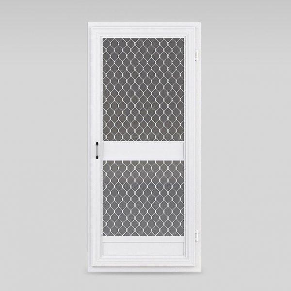 Commercial heavy duty insect screen door