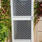 Commercial heavy duty insect screen door, external install