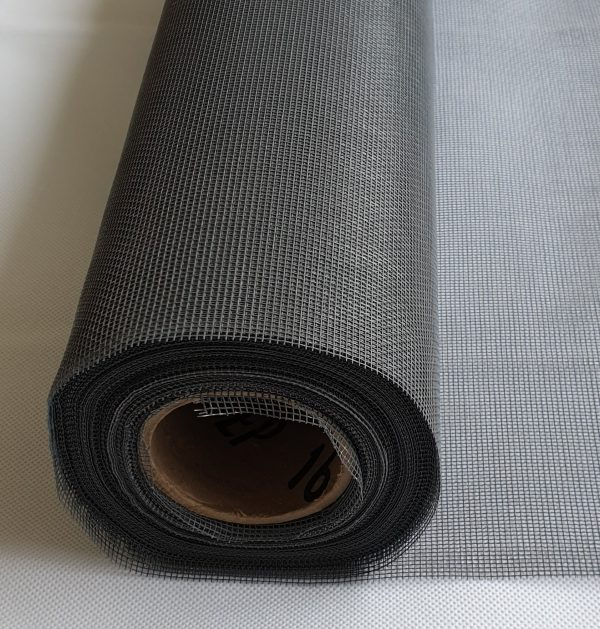 Grey insect mesh roll