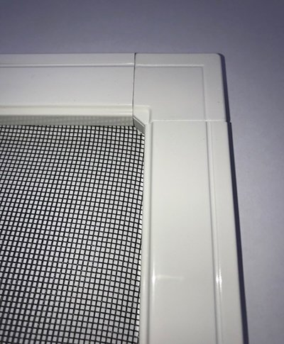 Magnetic insect screen frames