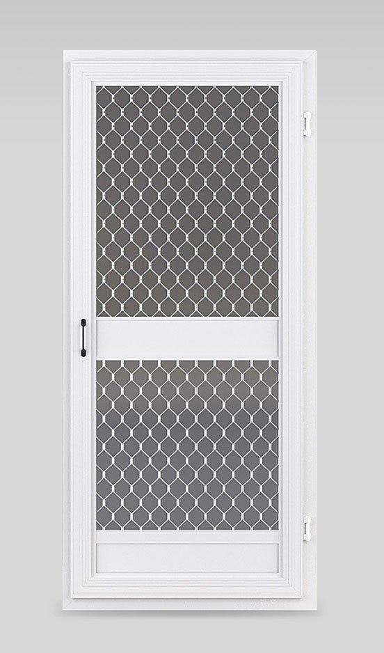 Commercial fly screen doors
